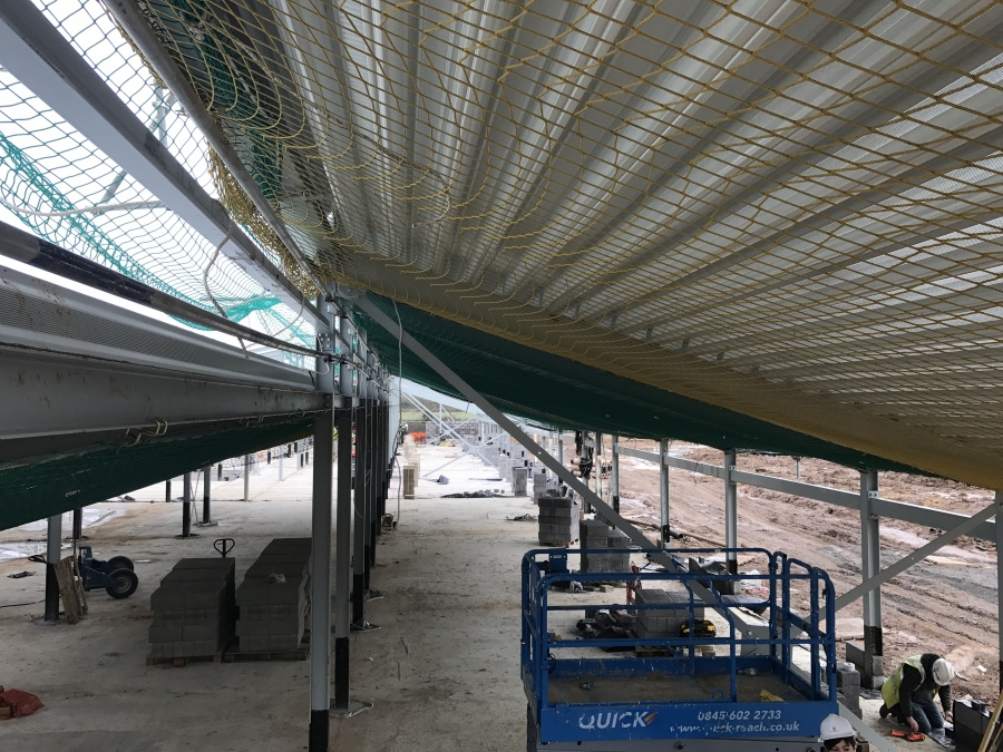 Steel frame erected at Dorothy Goodman Special School | Grayling Thomas