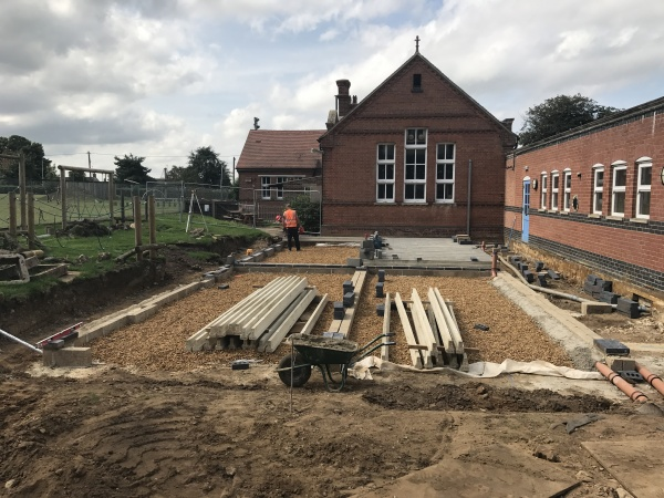 Start on site of new classroom block in Norfolk